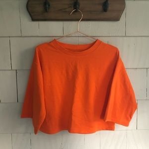 NWT Cropped ASOS Sweatshirt